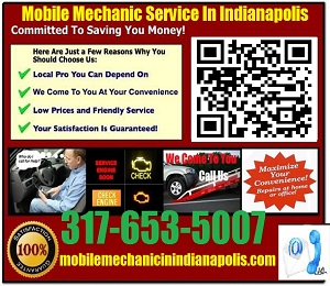 Mobile Mechanic Fishers Indiana Auto Car Repair Service shop on wheels